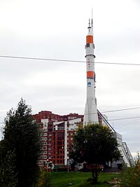Памятник Ракете