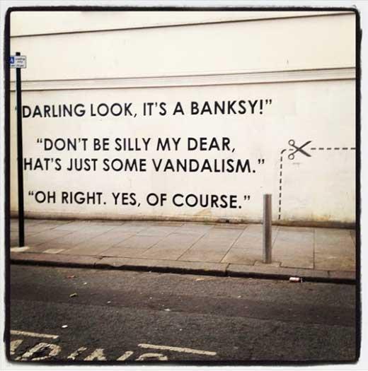 Вандализм или искусство?