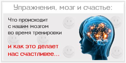 Что происходит с нашим мозгом во время тренировки – и как это делает нас счастливее