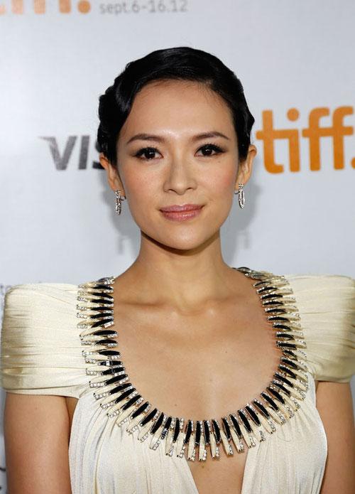 Китайская актриса Zhang Ziyi