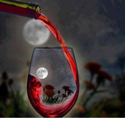 Вино с лунным светом
