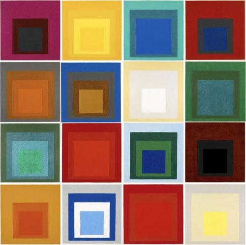 Джозеф Альберс: 'Во славу квадрата'
