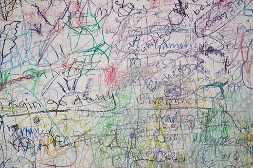 Убираем пятна от граффити